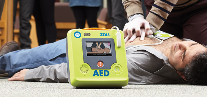 The all-new ZOLL AED 3; Automated External Defibrillator