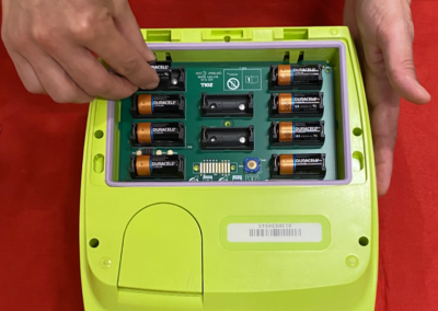How To Change Zoll AED Plus Defib Batteries