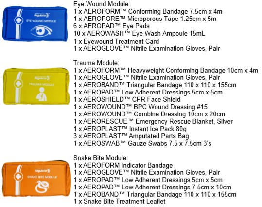The Module 6 Injury Specific Kit - Standard Workplace First Aid Kit