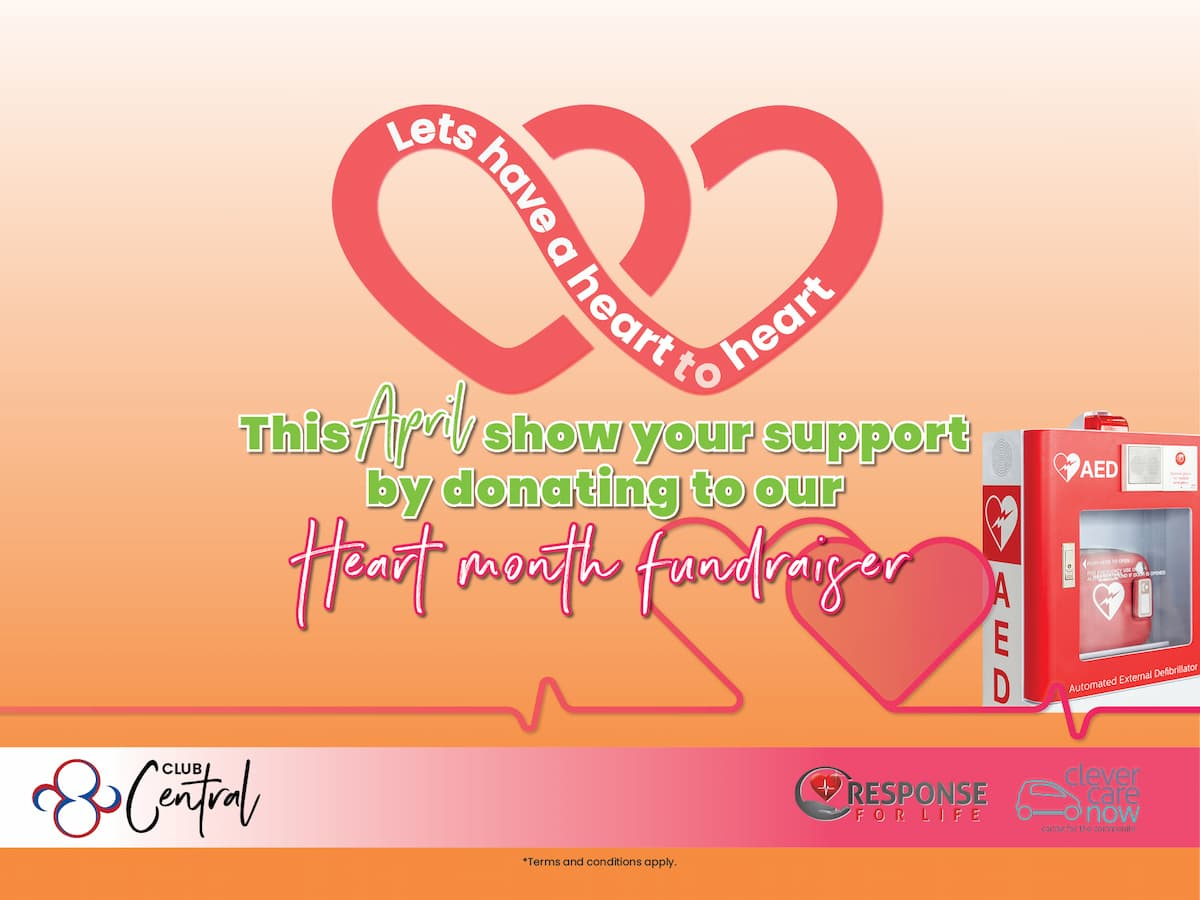 Donating to Heart Month Fundraiser Club Central