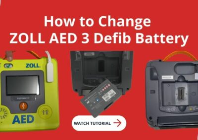 How to Change ZOLL AED 3 Defibrillator Battery